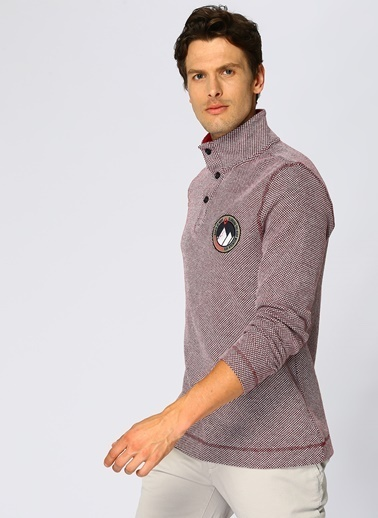 North Of Navy Sweatshirt Bordo